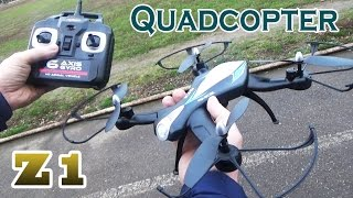 Обзор Квадрокоптер Z1 RC Quadcopter
