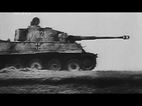 Танк Тигр  против танка Т 34.