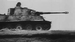 """Танк """"Тигр""""  против танка """"Т 34""""."""
