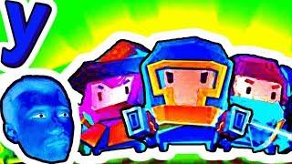 ПРоХоДиМеЦ и Забавный ПЕРСОНАЖ с КОТЁНКОМ Застряли в ЛАБИРИНТЕ! #574 ИГРА для ДЕТЕЙ - Soul Knight