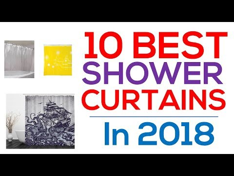 10 Best Shower Curtains
