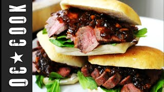 Grilled Tri-tip & Chipotle Jam Sandwich | Orange County Cook