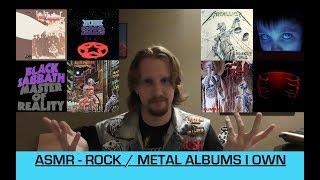 Vinyl ASMR - Rock / Metal Records I Own