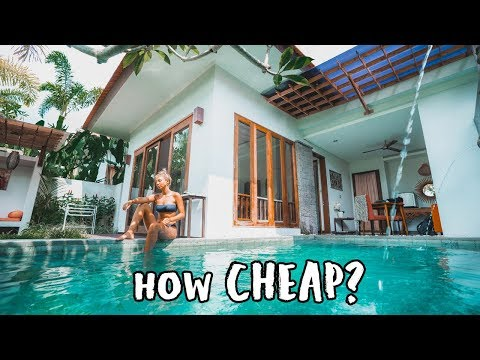 BALI on a BUDGET (Exotic Villa Tour)