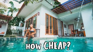 Gambar cover BALI on a BUDGET (Exotic Villa Tour)
