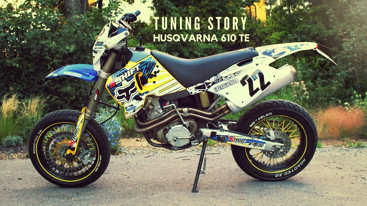 husqvarna 610 te supermoto tuning story. Black Bedroom Furniture Sets. Home Design Ideas