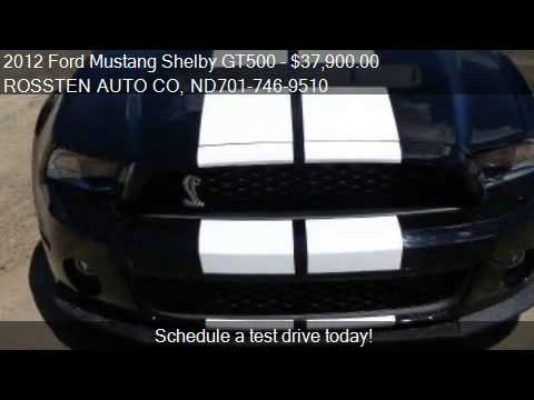 2012 ford mustang shelby gt500 coupe for sale in grand for youtube. Black Bedroom Furniture Sets. Home Design Ideas