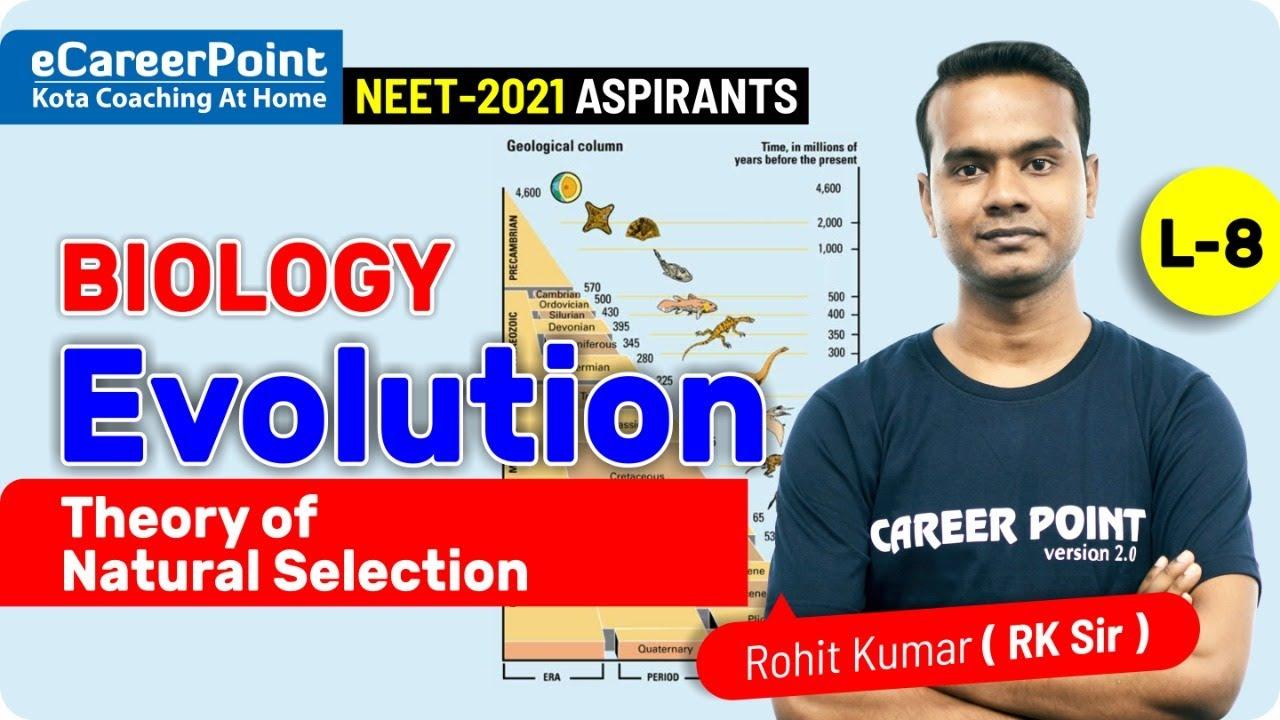Evolution Video Lecture- 8 | XII | NEET | Biology | Rohit Kumar Sir | eCareerPoint-NEET