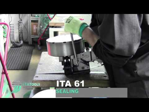 Машинка для упаковки стальной лентой ITA 61