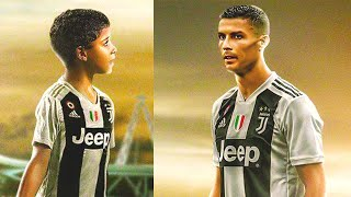 THE PROMISE of CRISTIANO RONALDO to his SON!