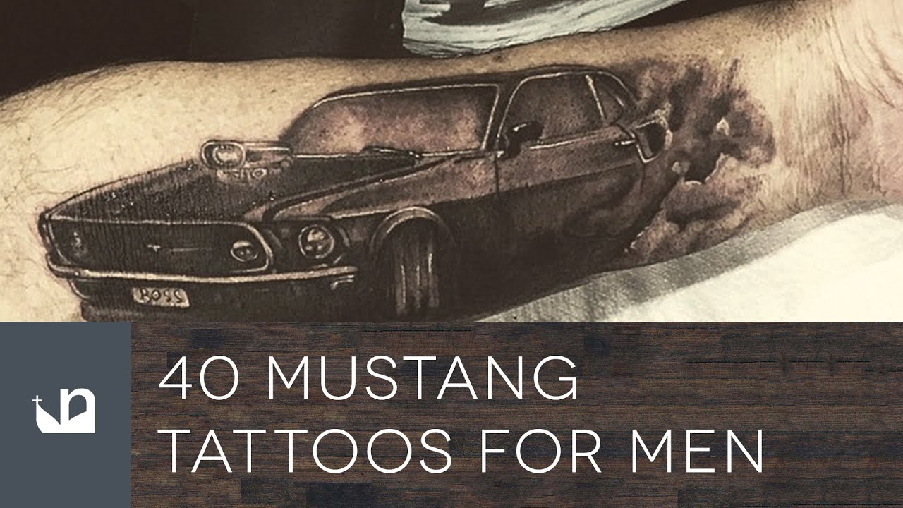 40 Mustang Tattoos For Men Youtube