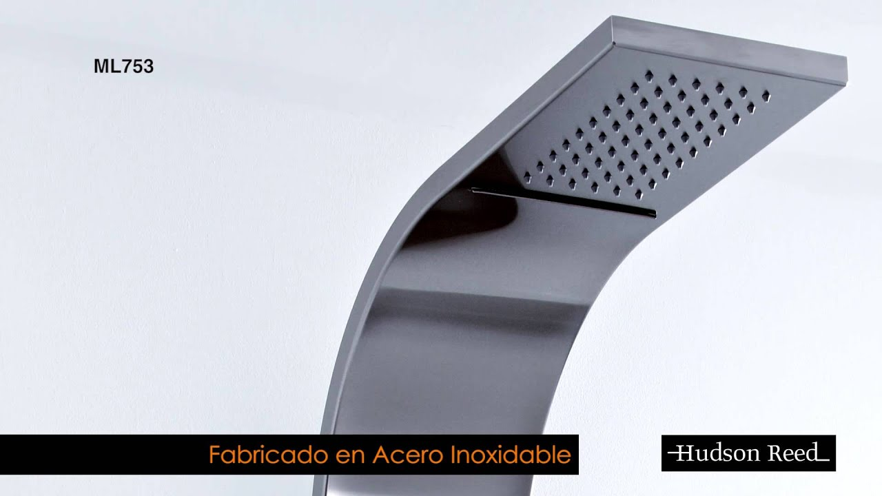 Panel de ducha termost tico columna de ducha hidromasaje for Columnas de ducha