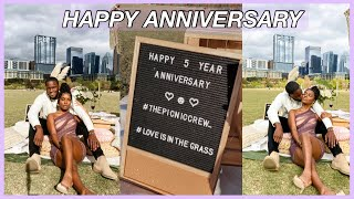 OUR 5 YEAR ANNIVERSARY!   BOHO INSPIRED OUTDOOR PICNIC !