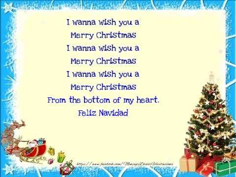 I Wanna Wish You A Merry Christmas.I Wanna Wish You A Merry Christmas