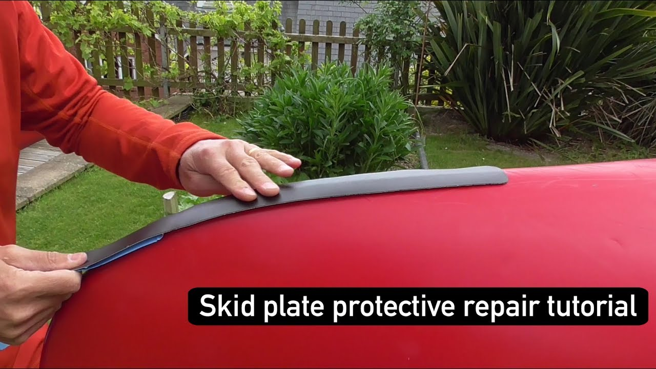 Protective Skid Plate strip for Canoe, Boat or Kayak - How to Fit