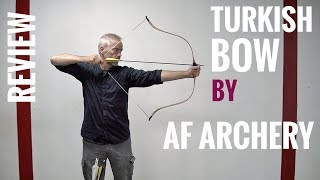 New Turkish laminated Bow by AF Archery - Review