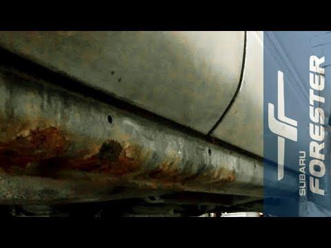 Не дай сгнить порогам! Subaru Forester