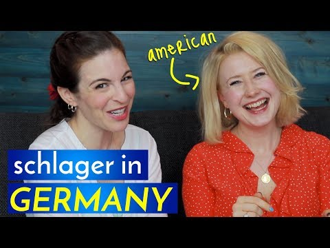 AMERICAN Schlager Singer in GERMANY?! Yes!!! (with Sarah Jane Scott)