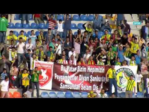 Şanlıurfaspor 1-2 Karabükspor PTT 1.LİG Maç Özeti 31.Hafta (23.04.2016)