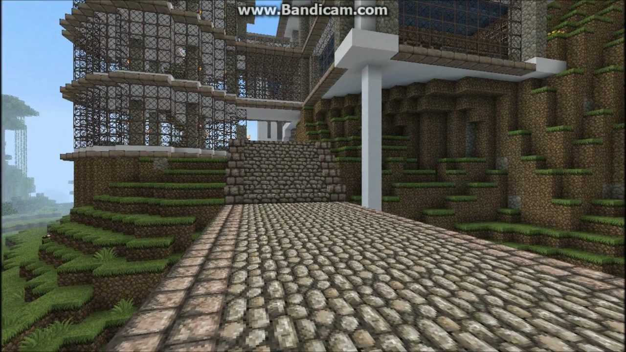 Minecraft cool house design youtube for Awesome home design ideas