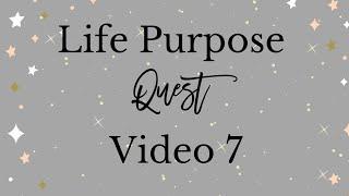 Life Purpose Video 7   Beliefs