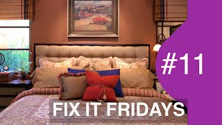 Bedroom Decorating | Interior Design | Fix It Fridays #11