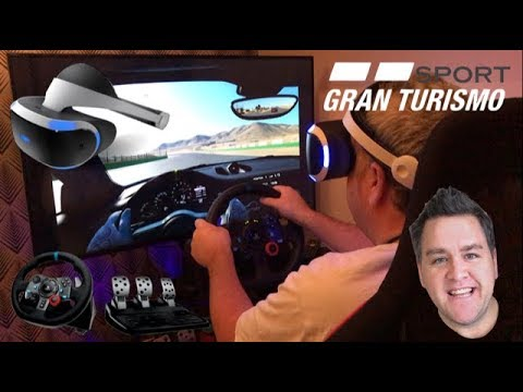 47b161b3897 Let's Race - Gran Turismo Sport - PS4 Pro - PSVR - Logitech G29 Racing  Wheel & Pedals - Good or Bad?