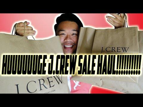HUUUUUUUUUGE J.CREW CLOTHING HAUL!!!!!
