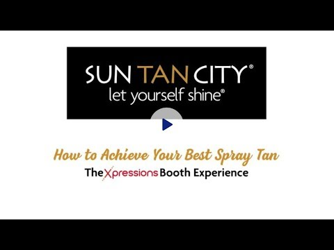 How To Achieve Your Best Spray Tan - The Xpressions Booth Experience