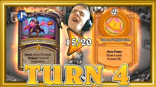 Turn 4 = Quest ALMOST Done! This Deck Is So Crazy Fun.