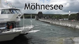 GERMANY: Möhnesee, lake & dam (Sauerland) [HD]