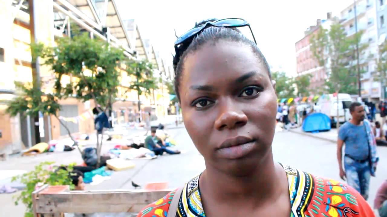 jeune femme africaine indign sur la condition des r fugi dans la 6 me puissance mondial youtube. Black Bedroom Furniture Sets. Home Design Ideas