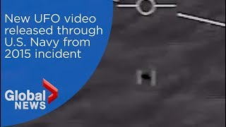 New UFO video released, shows incident from 2015