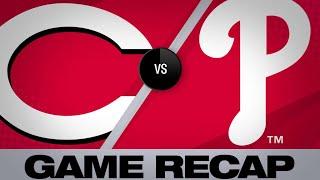 6/9/19: Votto, Suarez lift Reds to a 4-3 victory