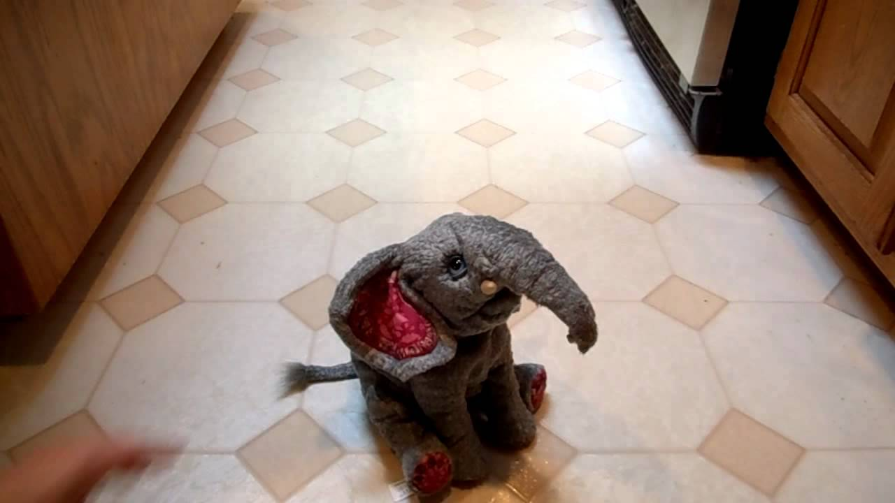Furreal Friends Zambi The Baby Elephant Interactive