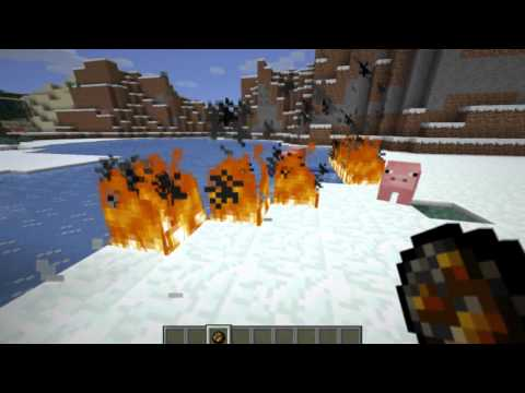 Minecraft - Six Things what you can do with fire
