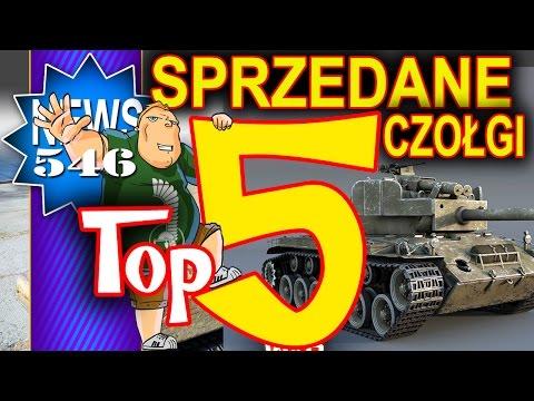 Top 5 sprzedanych czołgów premium na EU i RU - NEWS - World of Tanks