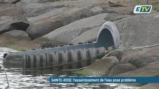 Égouts bouchés, eaux polluées déversées en mer, l'assainissement de l'eau inquiète à Saint