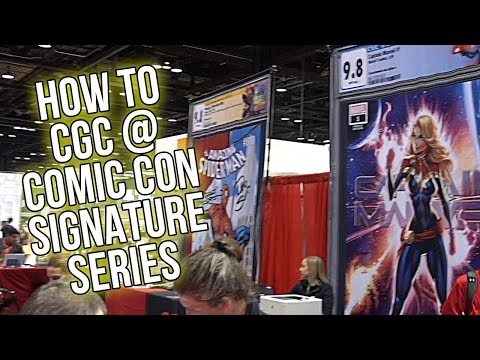 How to CGC At the Comic Con C2E2 2019 Signature Series