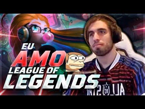 HORA DO LEAGUE OF LEGENDS!! SÓ PARTIDA BRABÍSSIMA DE ALTO NÍVEL thumbnail