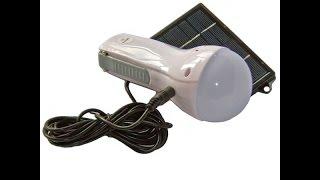 LED лампа на солнечной батарее GD-652(Фонари на солнечных батареях, солнечные зарядные устройства, в наличии! Доставка по всей Украине! http://fils.etov.ua., 2015-09-14T11:48:42.000Z)