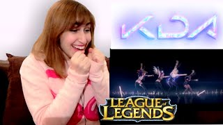 kpop fan reaction to league of legends kda cyber blackpink
