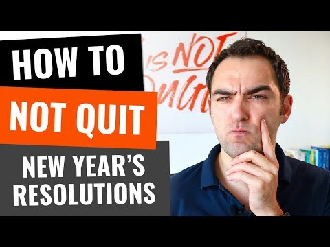How to not quit your new year's resolutions 0