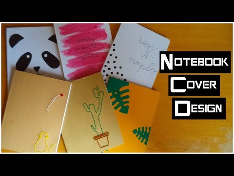 2# BACK TO SCHOOL DIY: Notebook Cover Designs | My Crafting World