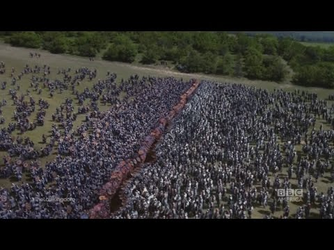 The final battle among vikings and saxons - The Last Kingdom