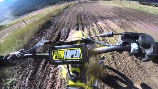 Suzuki Rm 125 Pinned on a Motocross Track and Blowing Up Engine