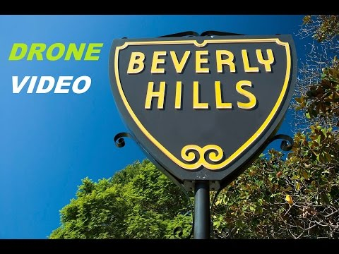 BEVERLY HILLS , DRONE VIDEO