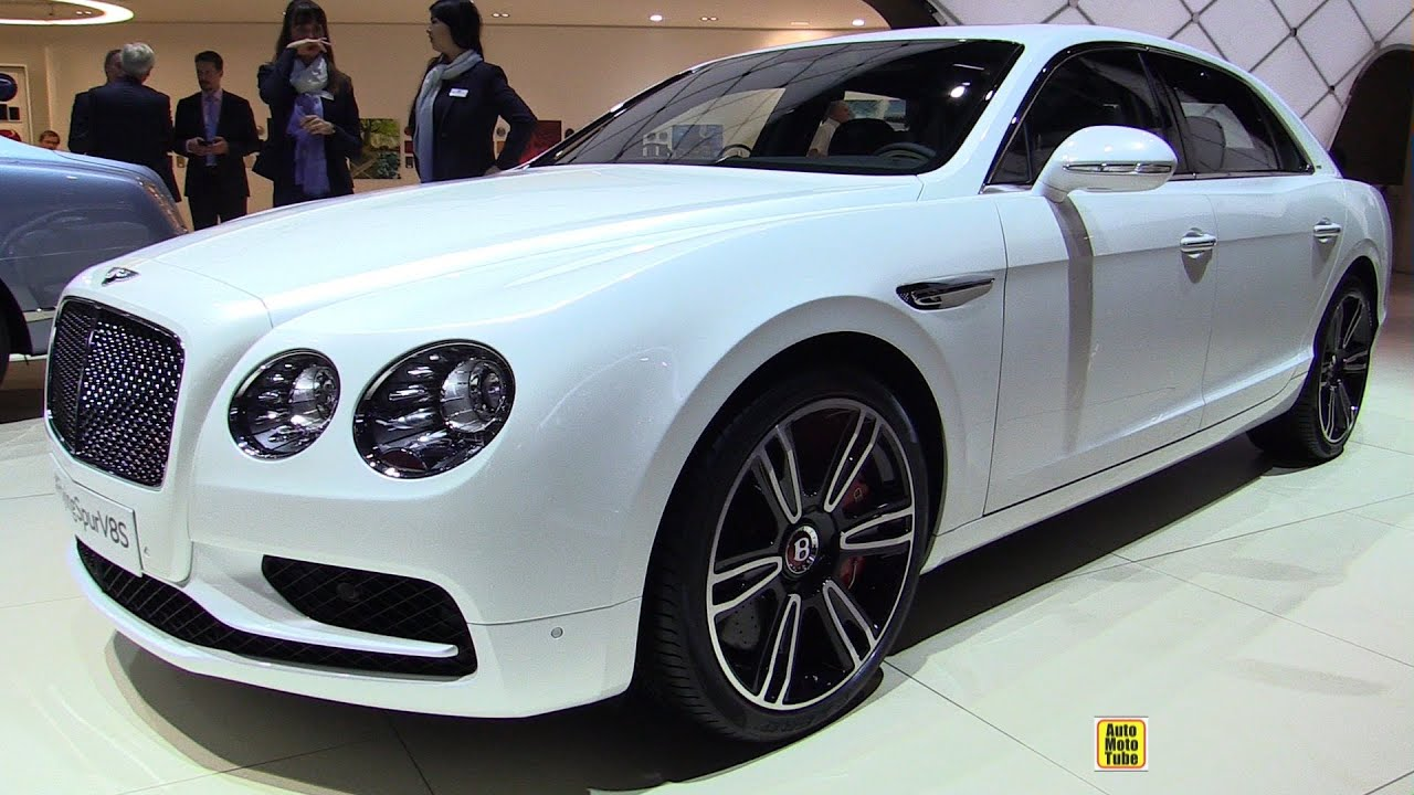 2017 Bentley Flying Spur V8s Exterior And Interior Walkaround 2016 Geneva Motor Show You