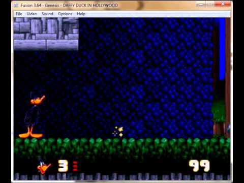 Daffy Duck In Hollywood - Mega drive / Genesis Longplay