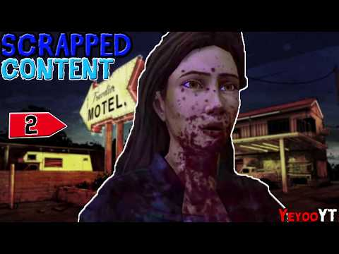 The Walking Dead Telltale Games -  SCRAPPED SCENES Part 2